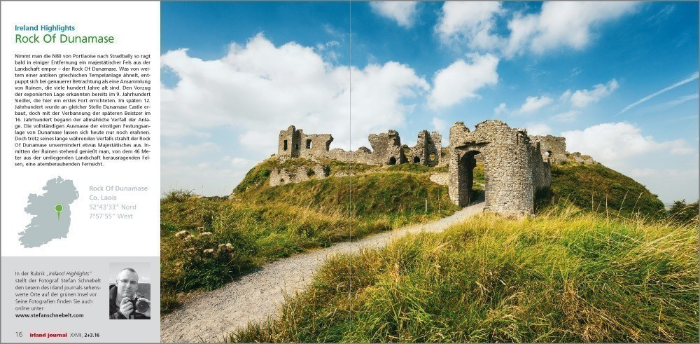 irland journal: Ireland Highlights – Rock Of Dunamase