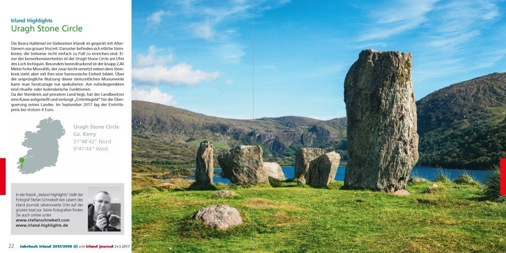 irland journal: Ireland Highlights – Uragh Stone Circle